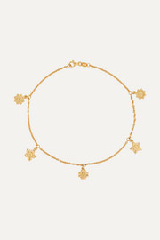Meadowlark Maiden gold-plated anklet