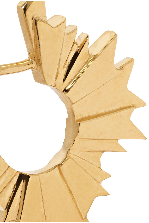 Meadowlark August vergoldete Ohrringe