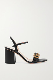 Marmont logo-embellished leather sandals