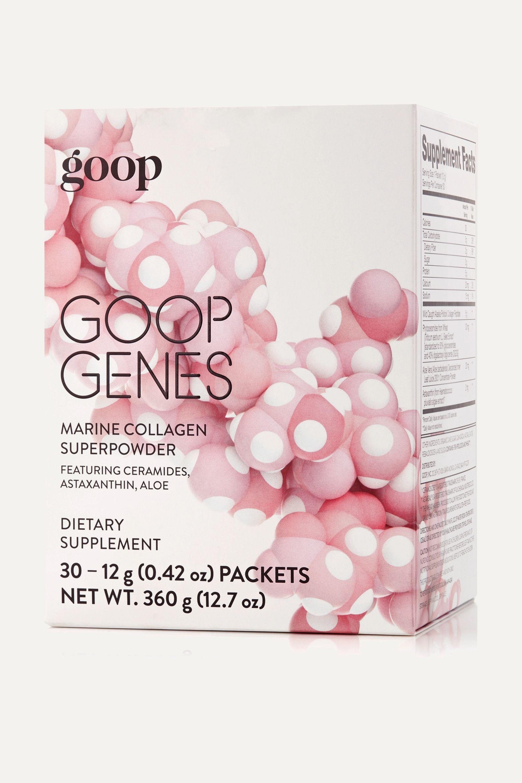 goop GOOPGENES Marine Collagen Superpowder, 30 x 12g