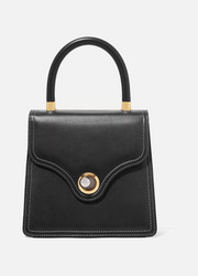 Lady leather tote