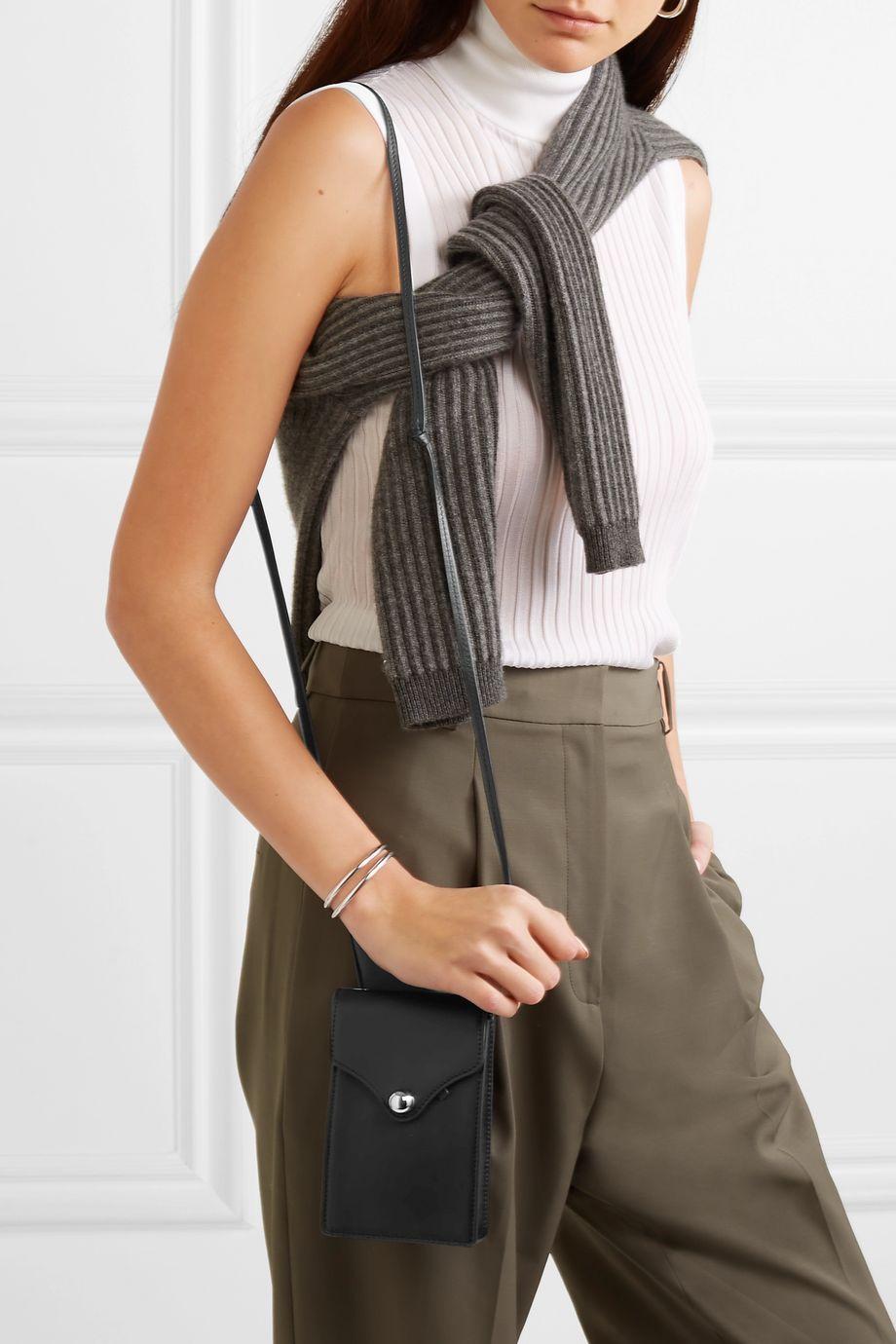 Ratio et Motus Disco mini leather shoulder bag