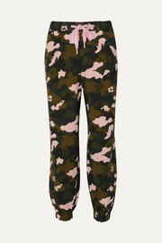 The Upside Jogginghose aus Stretch-Jersey mit Camouflage-Print