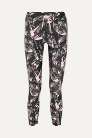 The Upside Japanese Forest bedruckte Stretch-Leggings