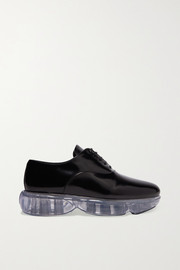 Prada Cloudbust leather and rubber sneakers