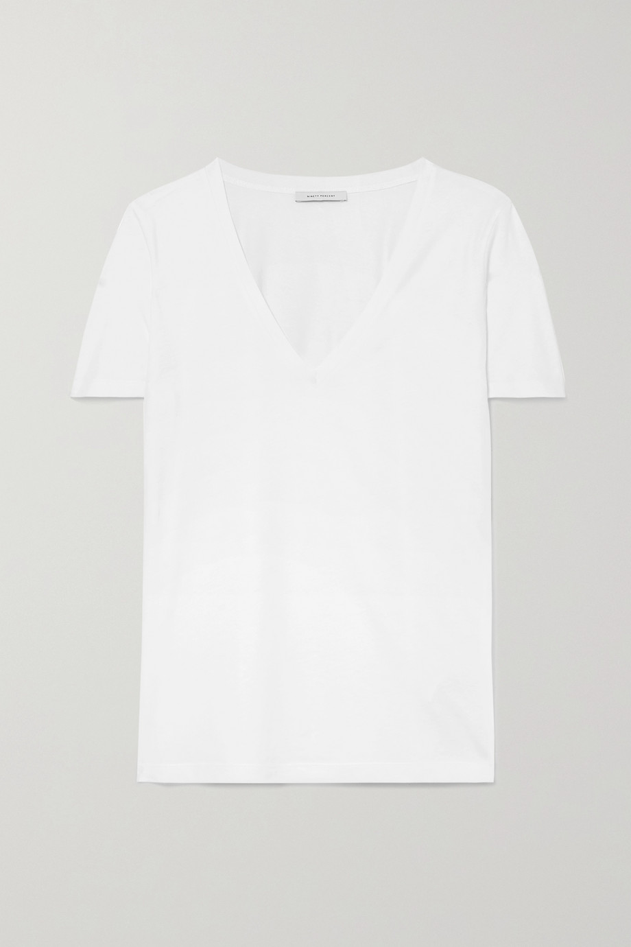 Ninety Percent Ruby organic cotton-jersey T-shirt