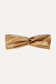 Twist silk headband