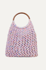LoveShackFancy Jojo crocheted cotton tote