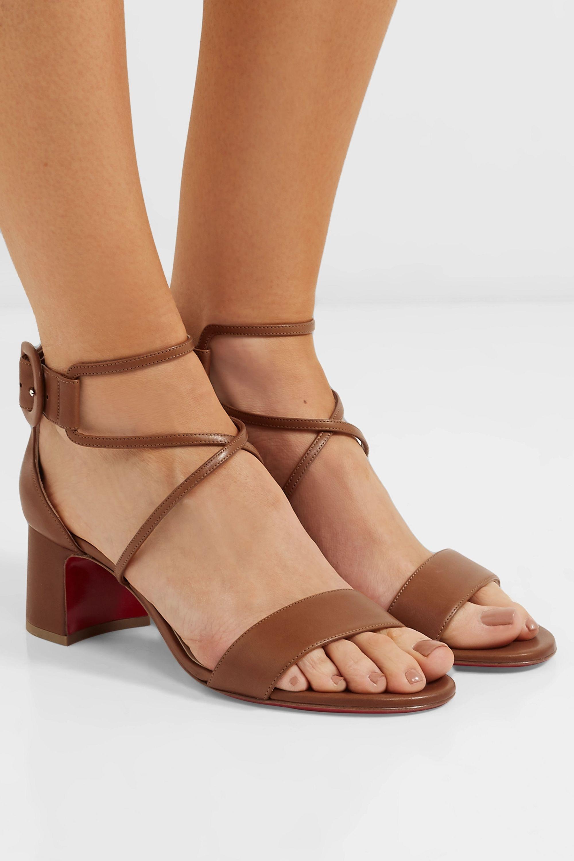 Christian Louboutin Choca 55 leather sandals