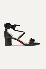 Christian Louboutin Choca 55 leather sandals
