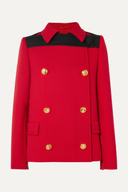Prada Double-breasted wool coat