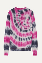 Prada Tie-dyed wool and cashmere-blend sweater