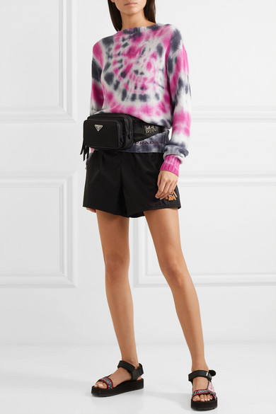 Tie Dyed Wool And Cashmere Blend Sweater by Prada
