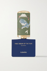 Floraiku Eau de parfum First Dream of the Year, 50 ml et 10 ml