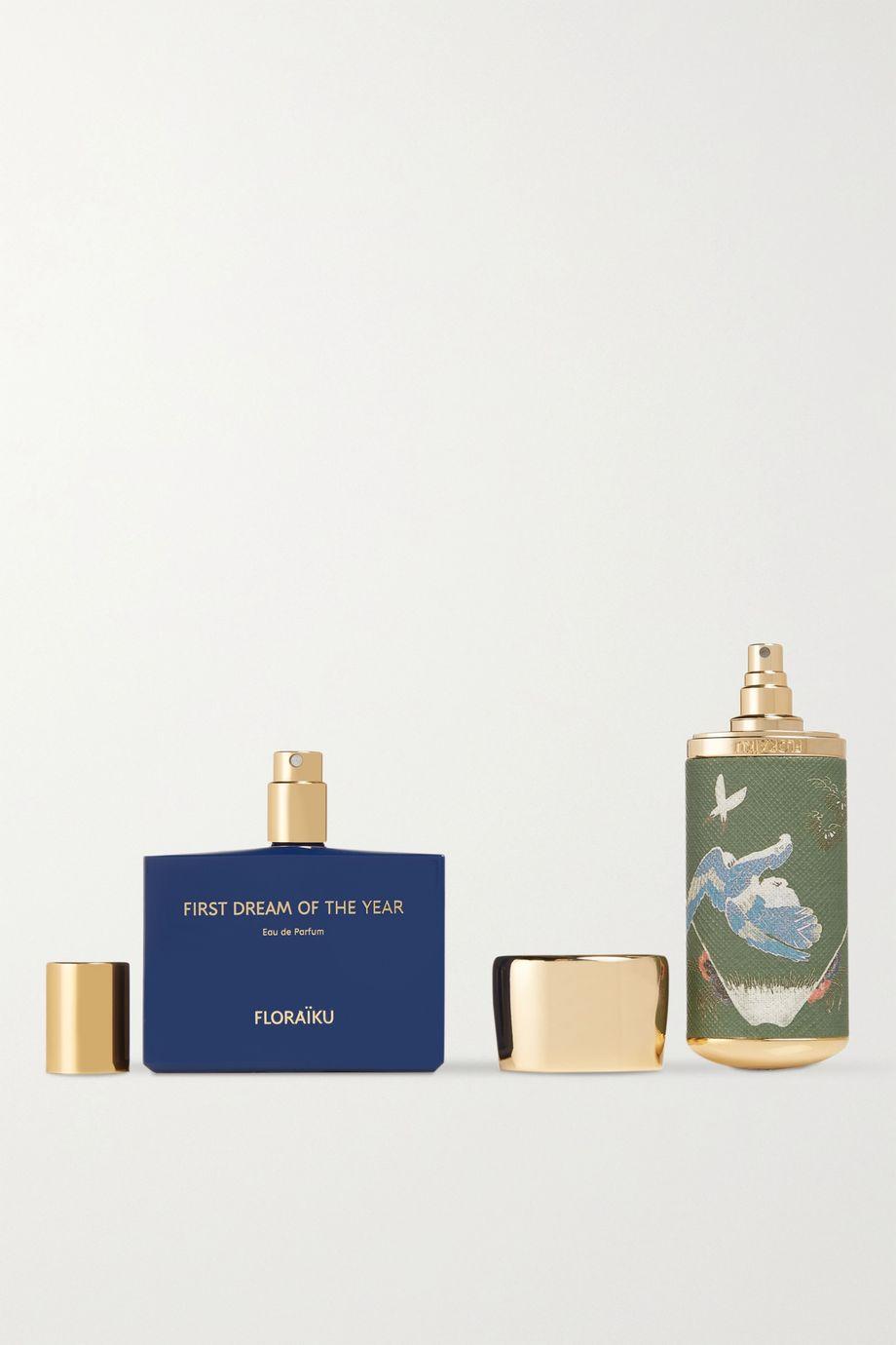 Floraiku First Dream of the Year Eau de Parfum, 50ml & 10ml