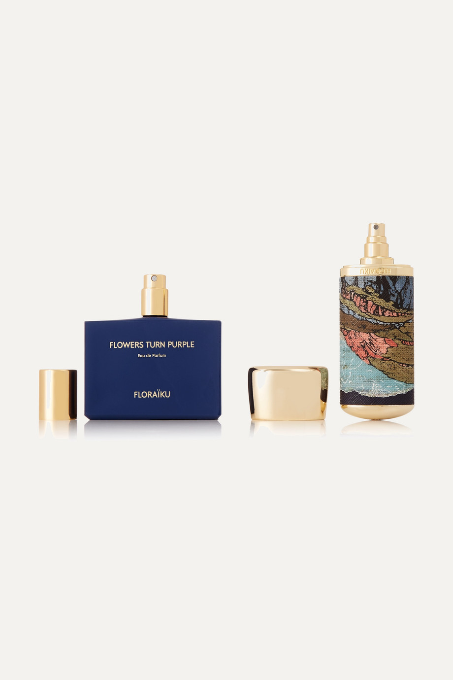 Floraiku Flowers Turn Purple, 50 ml & 10 ml – Eau de Parfum