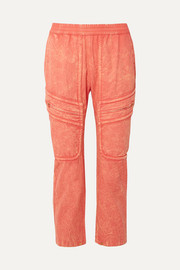Paradised Prim cotton-twill pants