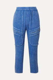 Paradised Playa cotton-gauze tapered pants