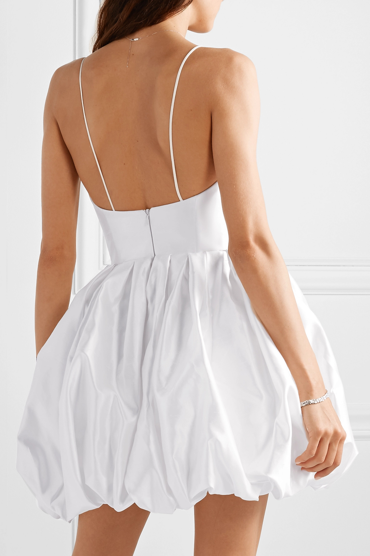 RASARIO Silk-satin mini dress
