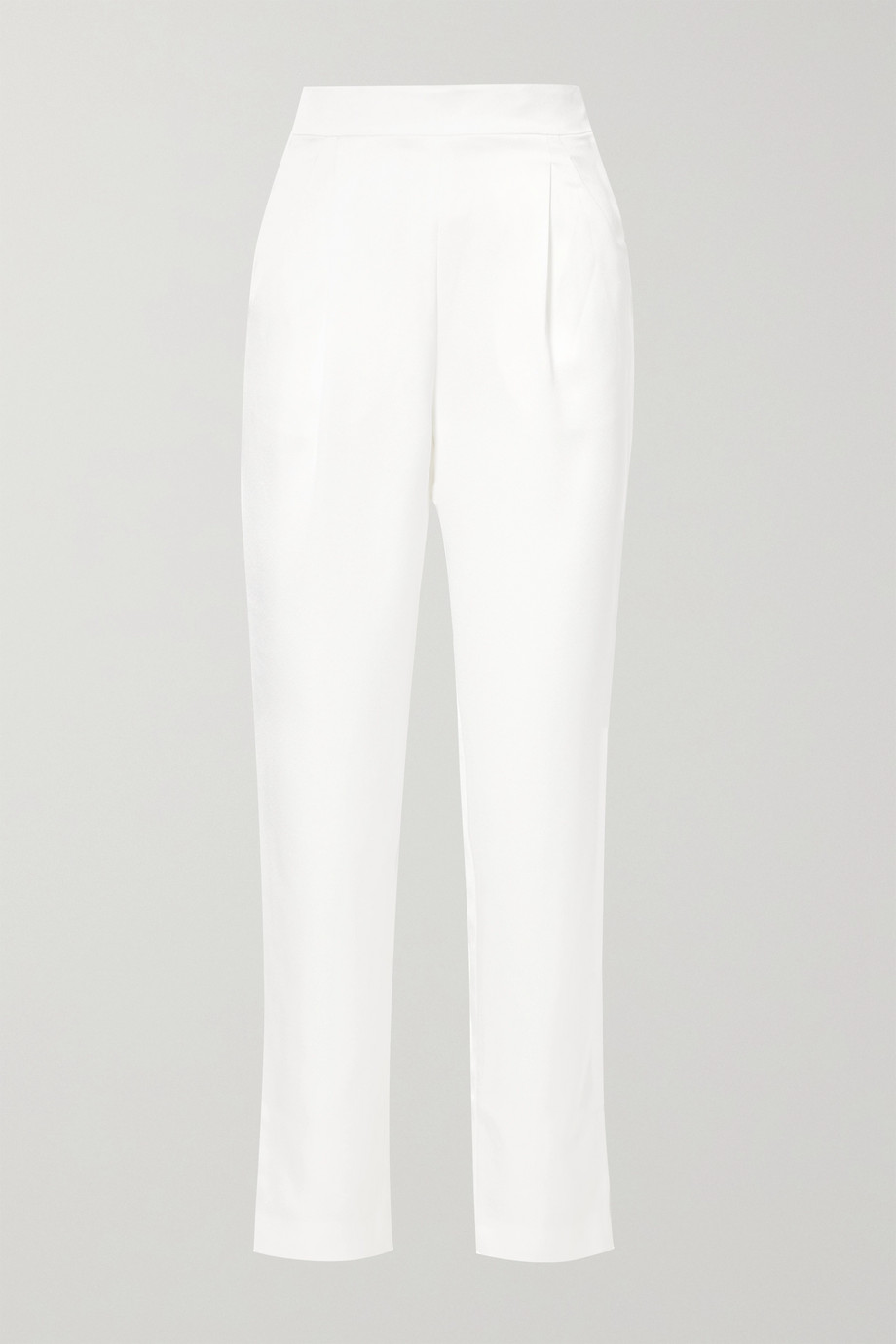 RASARIO Satin straight-leg pants