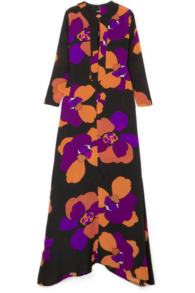 842ab1b9d8b5 Dodo Bar Or | Ninette floral-print silk-crepe maxi dress | NET-A-PORTER.COM