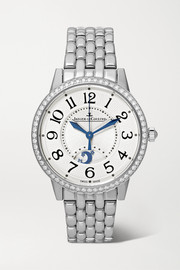 Rendez-Vous Night & Day 34mm medium stainless steel and diamond watch