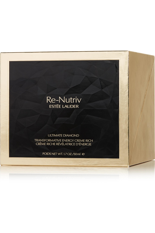 Estée Lauder Re-Nutriv Ultimate Diamond Transformative Energy Crème Rich, 50 ml – Gesichtscreme