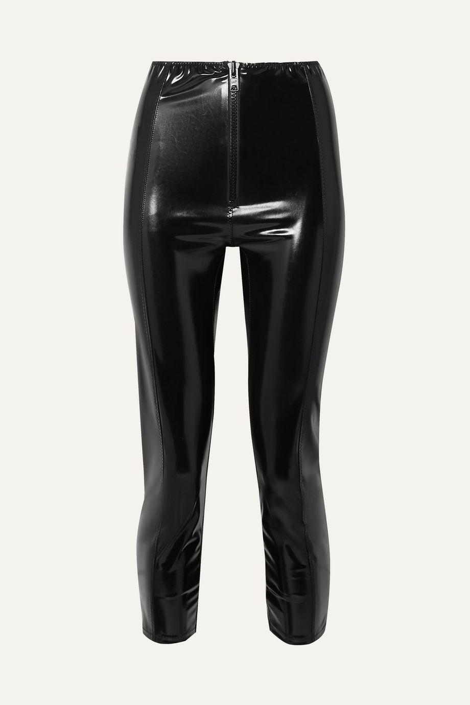 Lisa Marie Fernandez Hannah stretch-PVC leggings