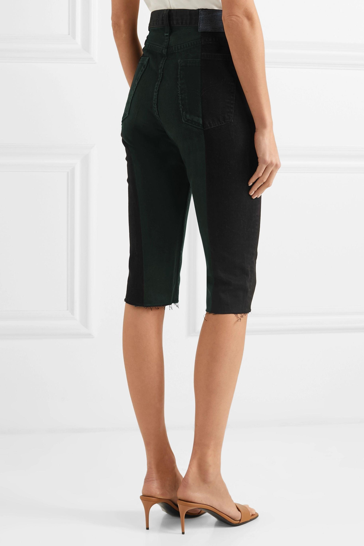 E.L.V. Denim + NET SUSTAIN The Twin denim shorts