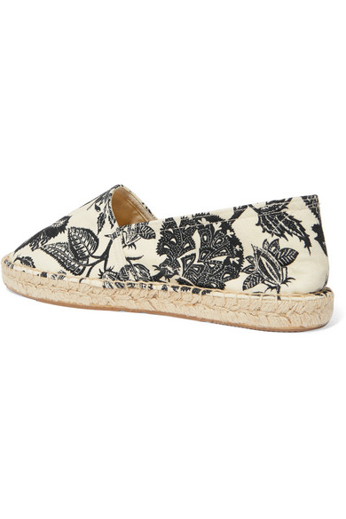 Isabel Marant Shoes Canaee floral-print canvas espadrilles