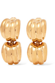 Natasha Schweitzer Jamie gold-plated earrings