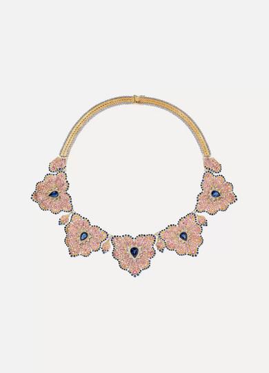 BUCCELLATI | Buccellati - 18-karat Yellow And White Gold Multi-stone Necklace - one size | Goxip