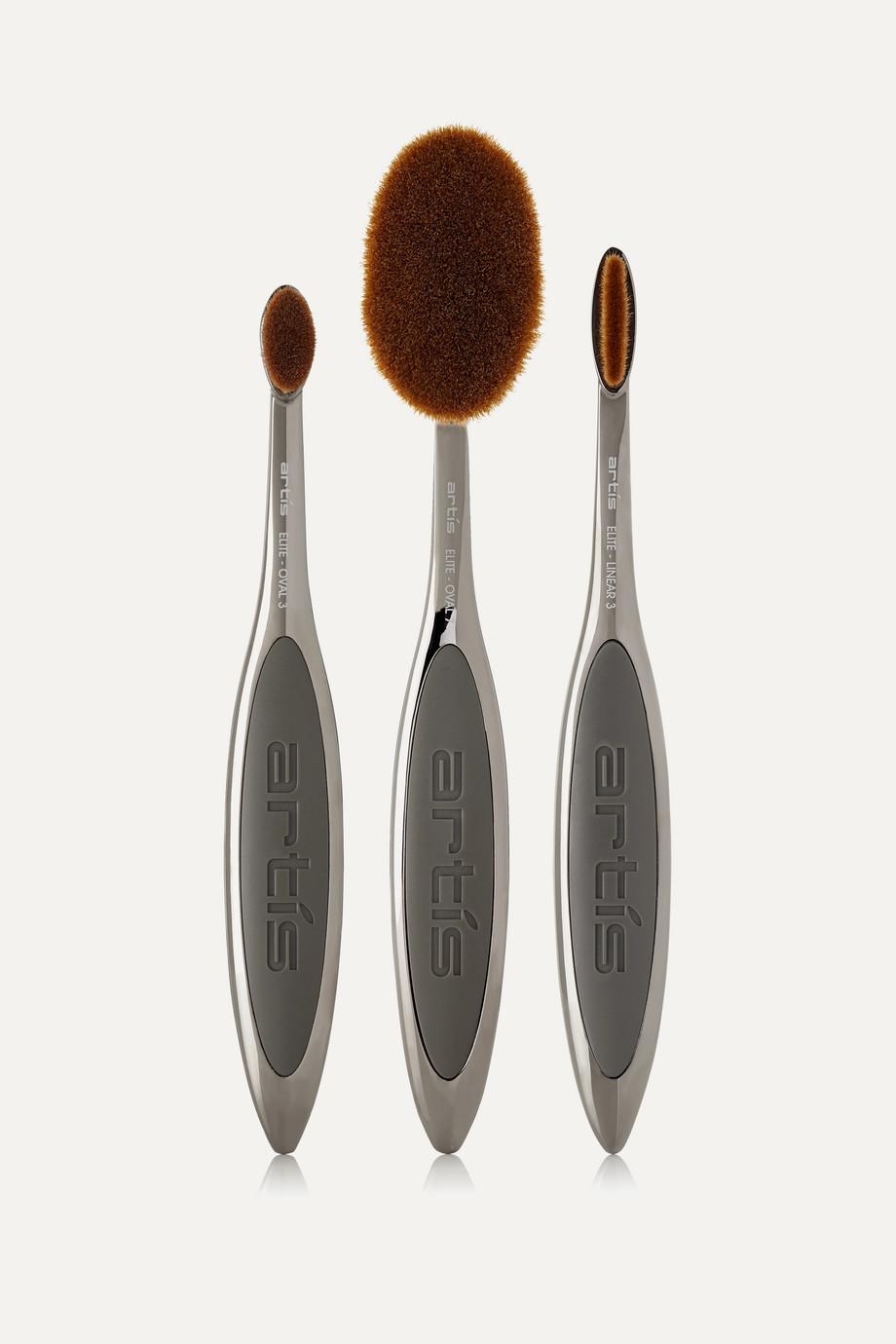 Artis Brush Elite Smoke Three Brush Set