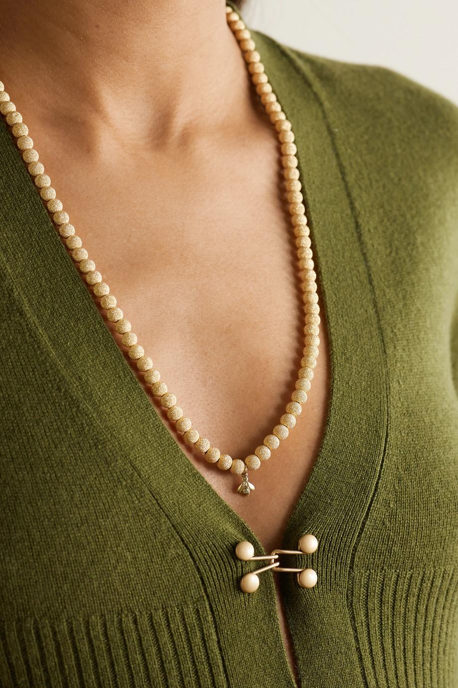 Carolina Bucci Florentine Kette aus 18 Karat Gold