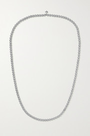 Carolina Bucci Florentine 18-karat white gold necklace
