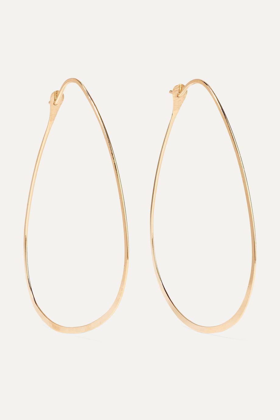 Melissa Joy Manning Gold hoop earrings