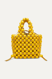 Vanina Simi small beaded tote