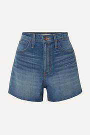 The Perfect Vintage Jeansshorts mit Fransen