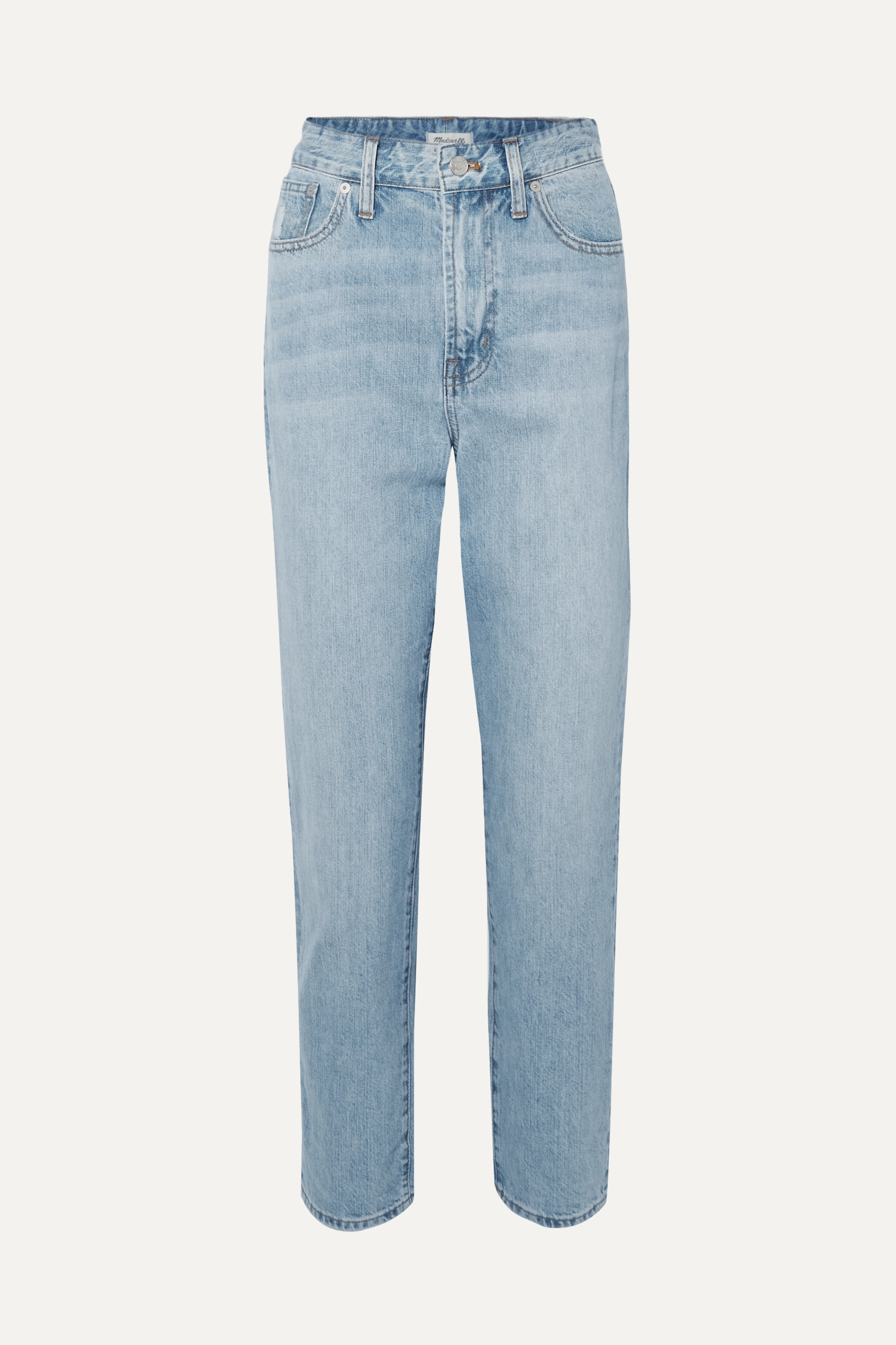 Madewell The Curvy Perfect Vintage high-rise straight-leg jeans