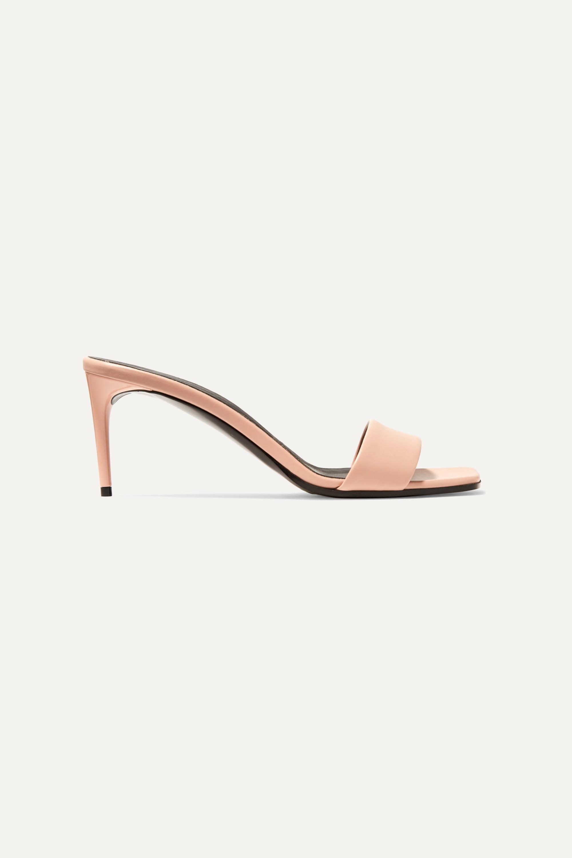 Stella McCartney + NET SUSTAIN faux leather mules
