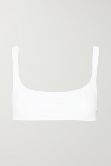 FISCH   Fisch - Colombier Bikini Top - White   Goxip