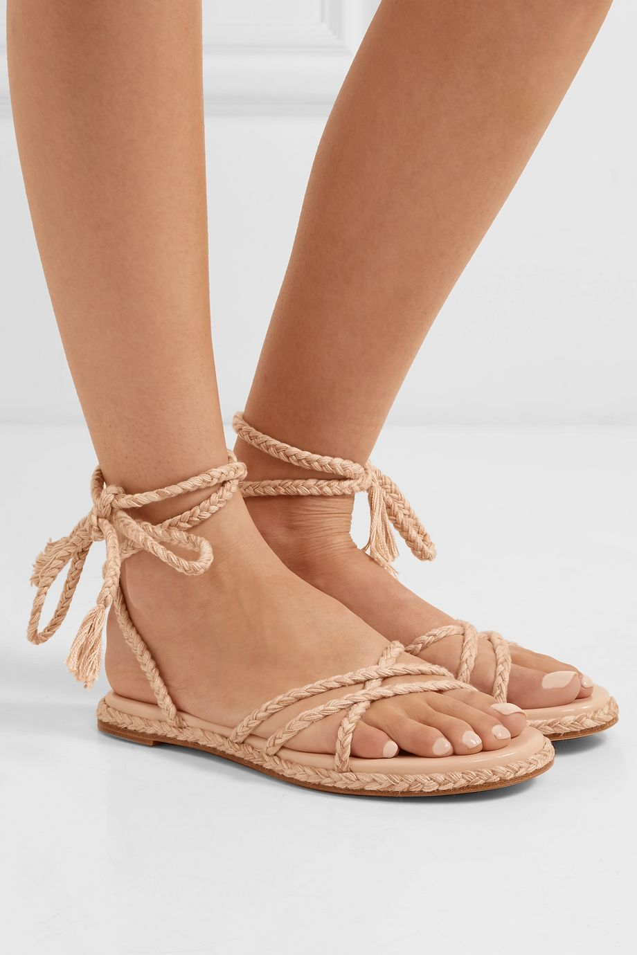 Antolina Bia braided cotton sandals