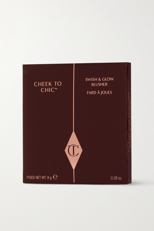 Charlotte Tilbury Cheek To Chic Swish & Glow Blusher - Pillow Talk