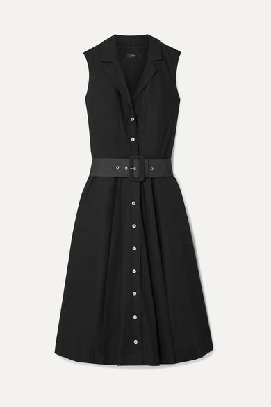 robe-en-popeline-de-coton-à-ceinture-rudbeckia by jcrew