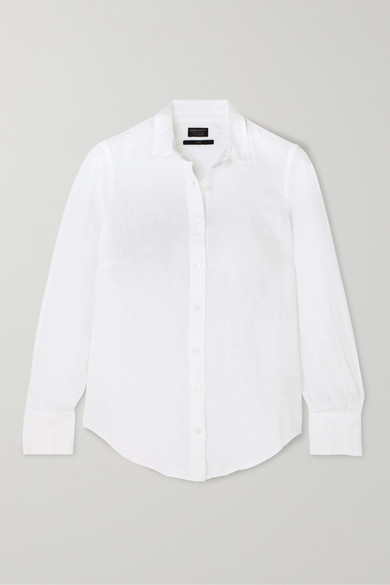 Perfect Linen Shirt by J.Crew