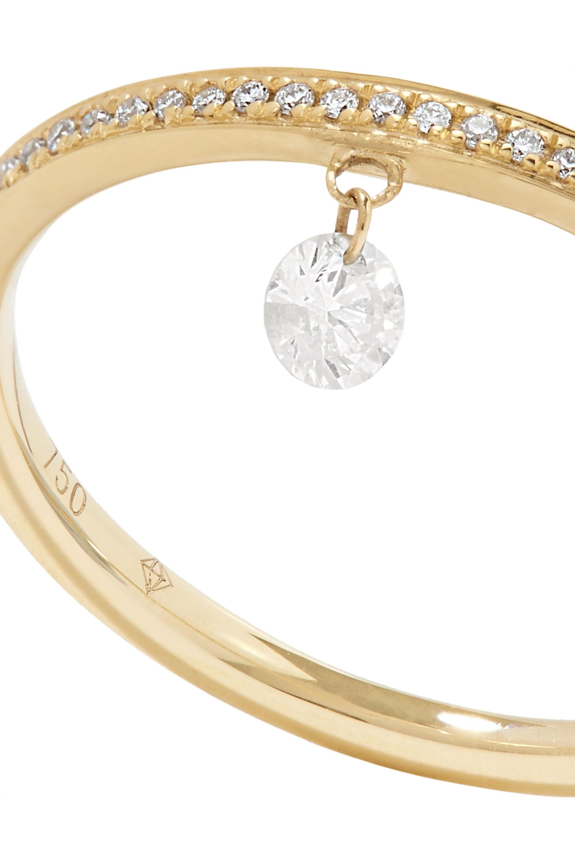 Persée Zeus 18-karat gold diamond ring