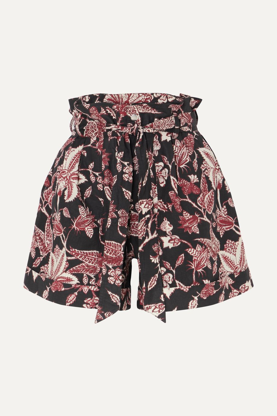 Isabel Marant Lweni floral-print cotton shorts