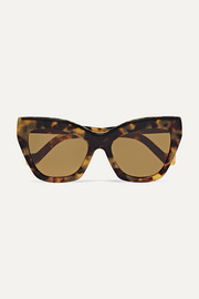 Loewe Cat-eye tortoiseshell acetate sunglasses