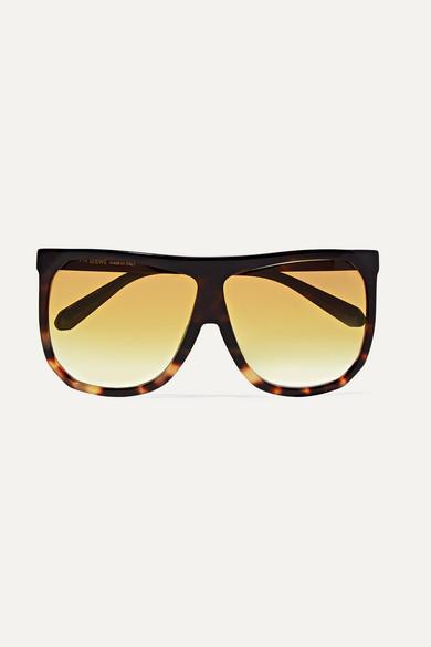 LOEWE | Loewe - Filipa Oversized D-frame Tortoiseshell Acetate Sunglasses - one size | Goxip