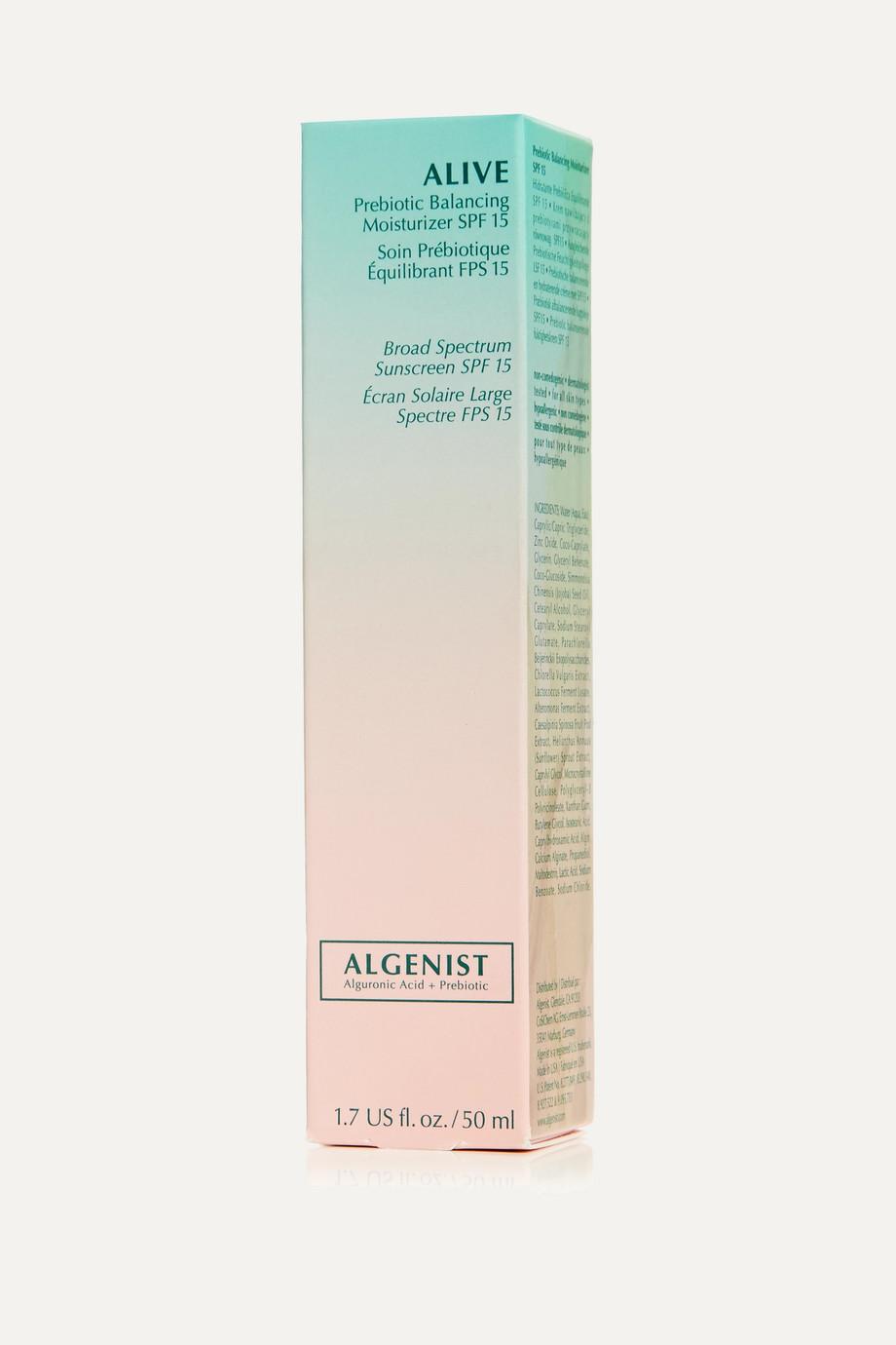 Algenist ALIVE Prebiotic Balancing Moisturizer LSF 15, 50 ml – Feuchtigkeitscreme